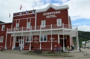 The Downtown Hotel restored to it's former glory.